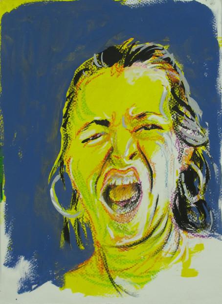 E. Tilly Strauss, Screamer I, 2015