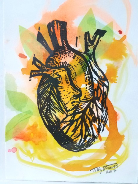 E. Tilly Strauss, Heart, 2017