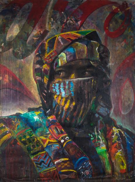 Ayo Scott, Afro-Kente Cola, 2014