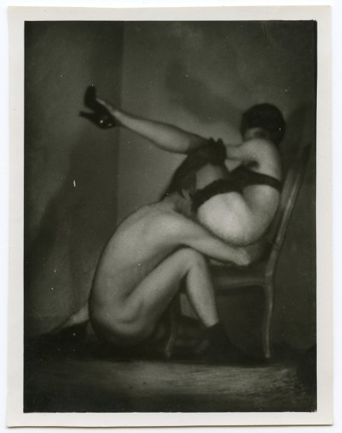 Pierre Molinier, Double autoportrait, c. 1956