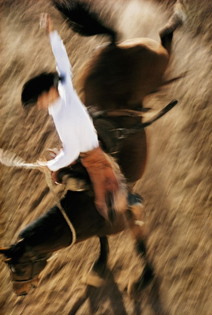 Ernst Haas, Bronco Rider, California, 1957