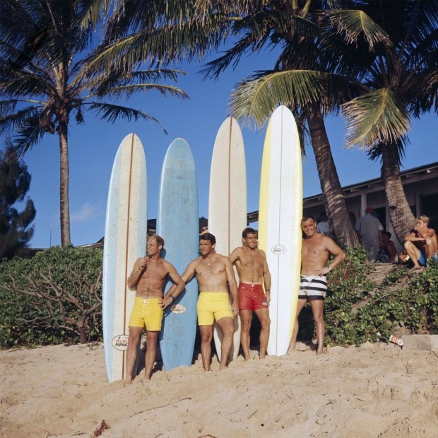 LeRoy Grannis, Greg Noll Surf Team, Sunset Beach, 1966