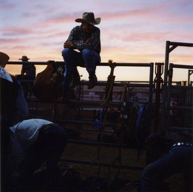 Lisa Eisner, Rodeo Sunset, Gillette, Wyoming, 1999