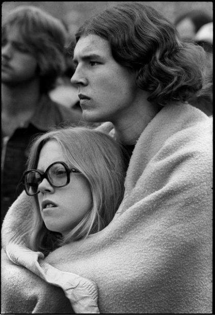 Joseph Szabo, Rolling Stones Fans No. 33, JFK Stadium, Philadelphia, 1978