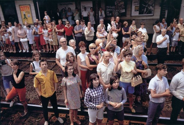 Paul Fusco, RFK Funeral Train #2608, 1968