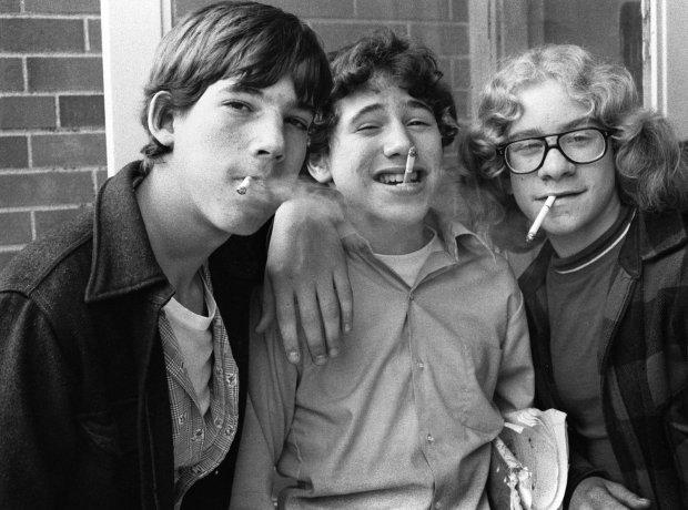 Joseph Szabo, 3 Smokers, 1974