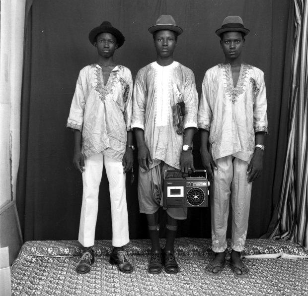 Malick Sidibé, Jeunes Bergers Peuls, 1972 / 2010
