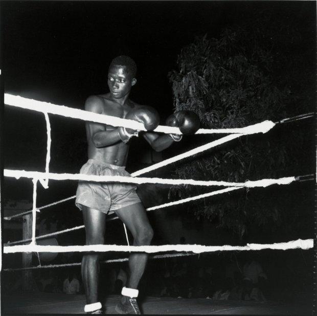Malick Sidibé, Boxeur, 1966 / 2010