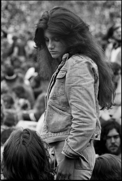 Joseph Szabo, Rolling Stones Fans No. 6, JFK Stadium, Philadelphia, 1978