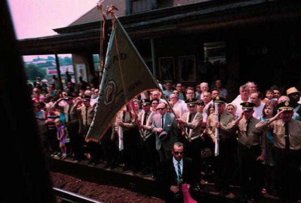 Paul Fusco, RFK Funeral Train #2455, 1968
