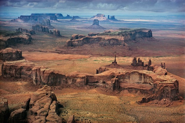 Ernst Haas, Monument Valley, Utah, 1962