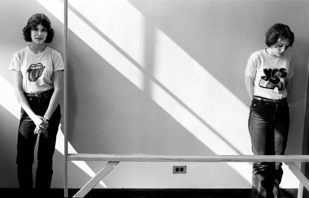 Joseph Szabo, Mary Ann and Mary Kay, 1976
