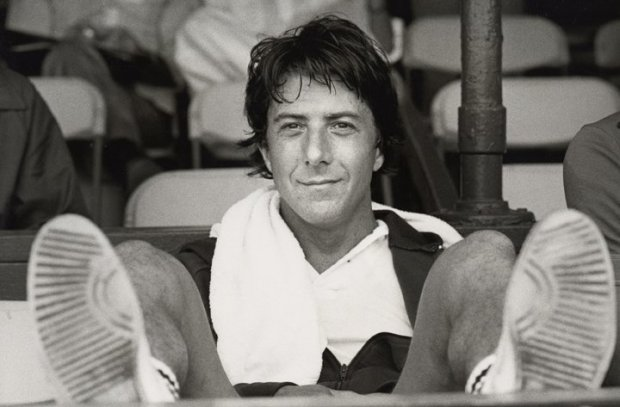 Ron Galella, Dustin Hoffman attends the 7th Annual RFK Tennis Tournament at Forest Hills, August 26, 1978