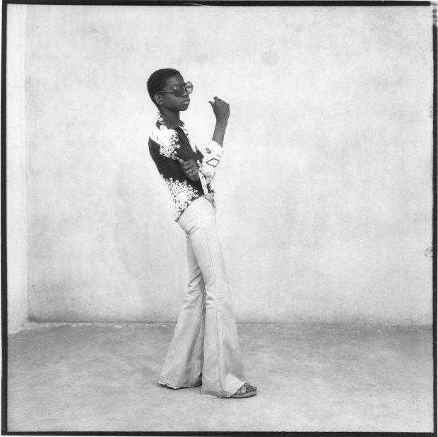 Malick Sidibé, Un Yéyé en Position, 1963 / 2010