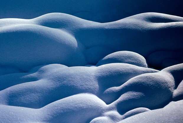 Ernst Haas, Snow Lovers, USA, 1964