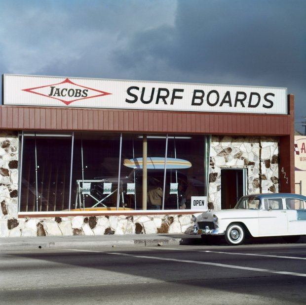 LeRoy Grannis, Jacobs Surf Shop (No. 80), 1963