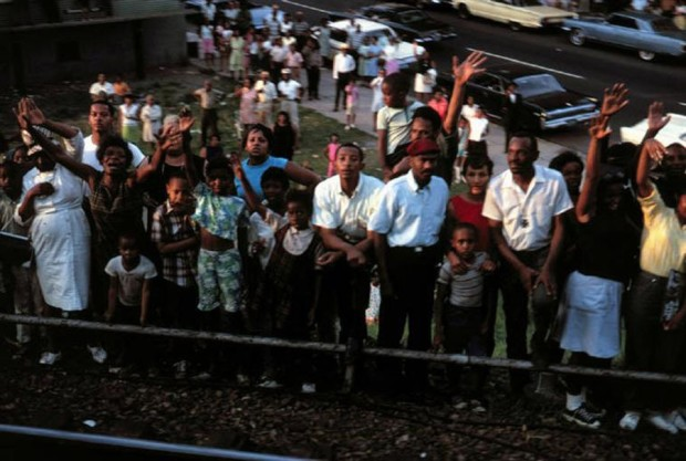 Paul Fusco, RFK Funeral Train #2598, 1968