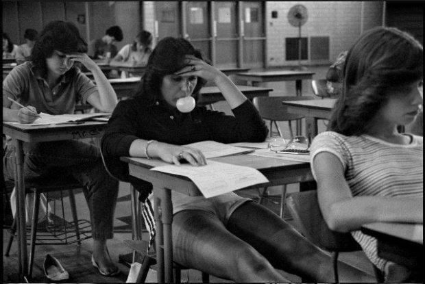 Joseph Szabo, Bubble Gum Girl, 1975