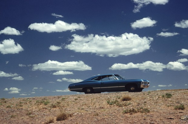 Ernst Haas, Car and Clouds, 1975
