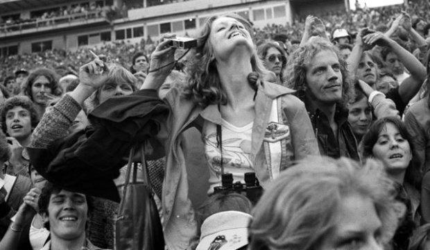 Joseph Szabo, Rolling Stones Fans No. 23, JFK Stadium, Philadelphia, 1978