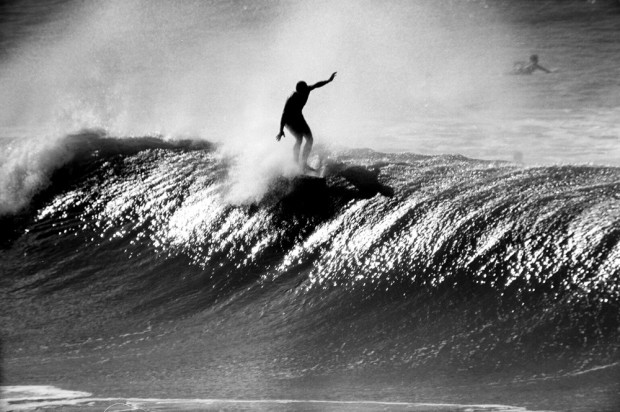 LeRoy Grannis, Chris Cattel, Huntington Beach, 1963