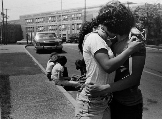 Joseph Szabo, The Kiss, 1978