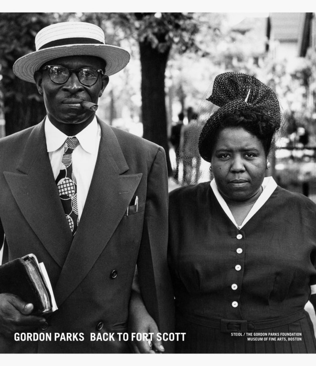 Gordon Parks, Back to Fort Scott
