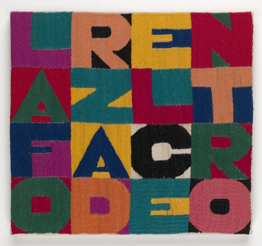 "<span class=""artist""><strong>Alighiero Boetti</strong></span>, <span class=""title""><em>La Forza del Centro</em>, 1989</span>"