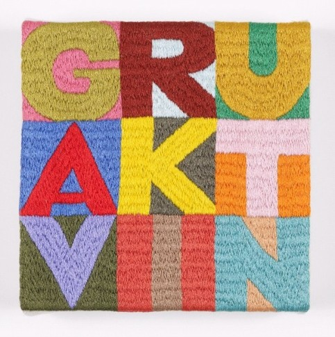 "<span class=""artist""><strong>Gavin Turk</strong></span>, <span class=""title""><em>Plus & Minus</em>, 2012</span>"
