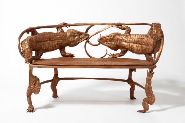 <span class=&#34;artist&#34;><strong>Claude Lalanne</strong></span>, <span class=&#34;title&#34;><em>Banquette Crocodile (B)</em>, 2010</span>