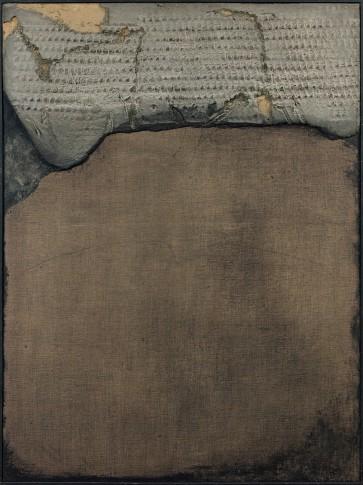 <span class=&#34;artist&#34;><strong>Antoni T&#224;pies</strong></span>, <span class=&#34;title&#34;><em>Painting No. LXXXIV</em>, 1958</span>