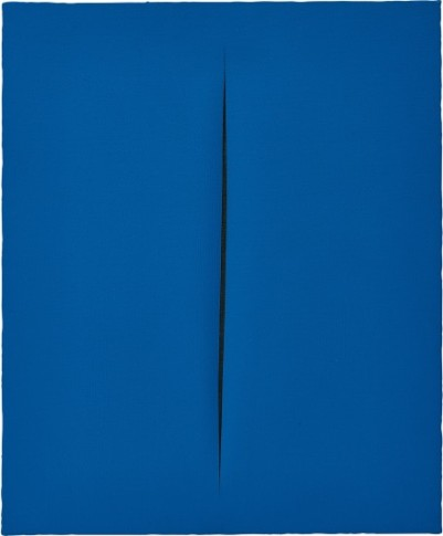 <span class=&#34;artist&#34;><strong>Lucio Fontana</strong></span>, <span class=&#34;title&#34;><em>Concetto Spaziale, Attesa</em>, 1964</span>