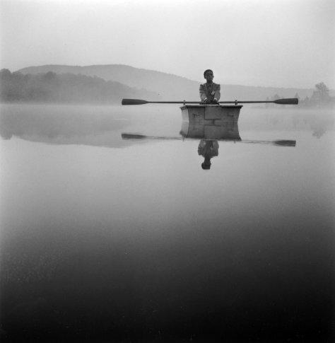 <span class=&#34;artist&#34;><strong>Tseng Kwong Chi</strong></span>, <span class=&#34;title&#34;><em>Lake Ninevah, Vermont (oars)</em>, 1985</span>