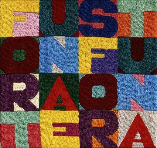 """<span class=""""artist""""><strong>Alighiero Boetti</strong></span>, <span class=""""title""""><em>Fortuna e Sfortuna</em>, 1991</span>"""