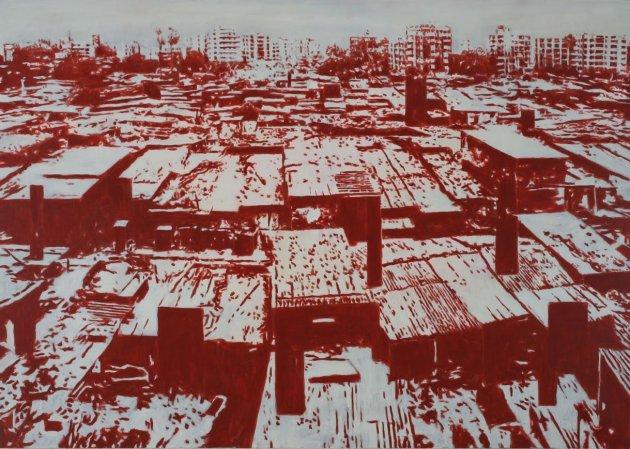 <span class=&#34;artist&#34;><strong>Heribert C. Ottersbach</strong></span>, <span class=&#34;title&#34;><em>Arkadia-Anflug</em>, 2008</span>