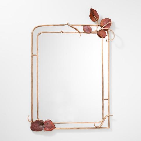 <span class=&#34;artist&#34;><strong>Claude Lalanne</strong></span>, <span class=&#34;title&#34;><em>Miroir Feuilles Hosta</em>, 2018</span>