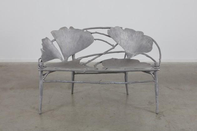 <span class=&#34;artist&#34;><strong>Claude Lalanne</strong></span>, <span class=&#34;title&#34;><em>Ginkgo (banc)</em>, 1999</span>