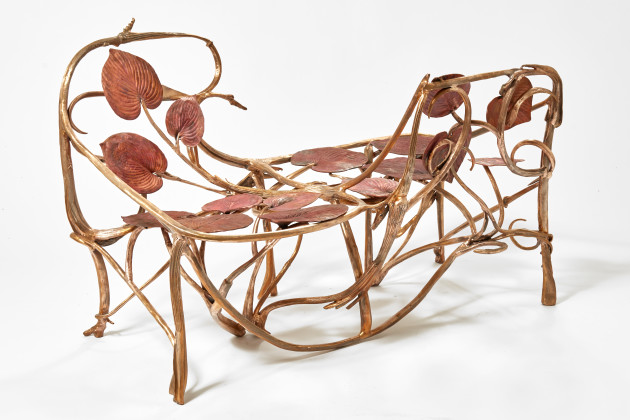 <span class=&#34;artist&#34;><strong>Claude Lalanne</strong></span>, <span class=&#34;title&#34;><em>Love Seat</em>, 2018</span>