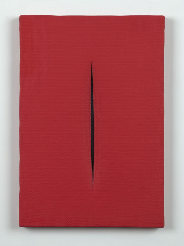 <span class=&#34;artist&#34;><strong>Lucio Fontana</strong></span>, <span class=&#34;title&#34;><em>Concetto Spaziale, [Attesa]</em>, 1964</span>