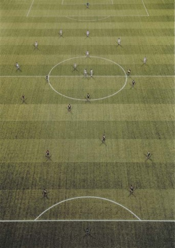 <span class=&#34;artist&#34;><strong>Andreas Gursky</strong></span>, <span class=&#34;title&#34;><em>Em Arena II, Amsterdam</em>, 2000</span>
