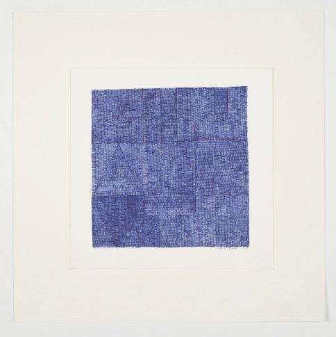 """<span class=""""artist""""><strong>Gavin Turk</strong></span>, <span class=""""title""""><em>GIU (Blue Biro)</em>, 2012</span>"""