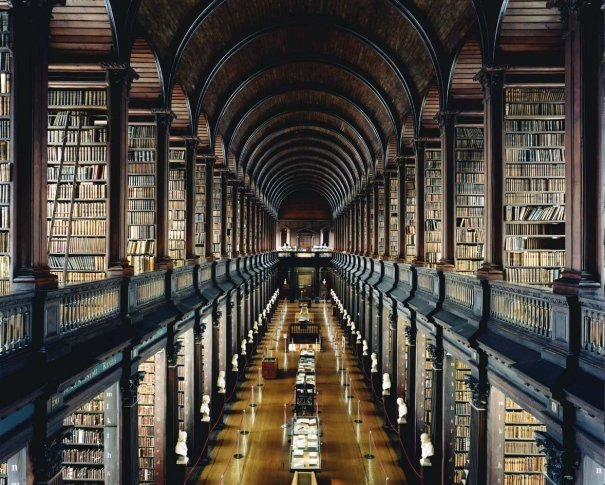 <span class=&#34;artist&#34;><strong>Candida Höfer</strong></span>, <span class=&#34;title&#34;><em>Trinity College Library Dublin I</em>, 2004</span>