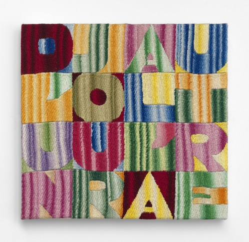 """<span class=""""artist""""><strong>Alighiero Boetti</strong></span>, <span class=""""title""""><em>D'un Jour à l'Autre</em>, 1991</span>"""