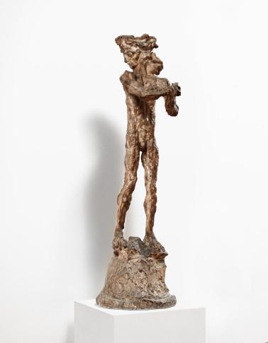 <span class=&#34;artist&#34;><strong>Lucio Fontana</strong></span>, <span class=&#34;title&#34;><em>Aquiles (David)</em>, 1946</span>