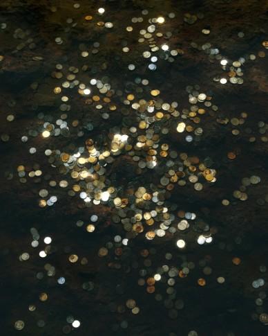 """<span class=""""artist""""><strong>Chen Wei</strong></span>, <span class=""""title""""><em>Coins #4</em>, 2012</span>"""