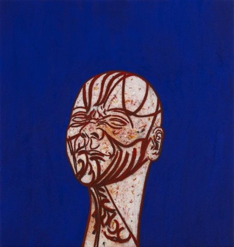 <span class=&#34;artist&#34;><strong>Tony Bevan</strong></span>, <span class=&#34;title&#34;><em>Self Portrait after Messerschmidt (PC105)</em>, 2010</span>