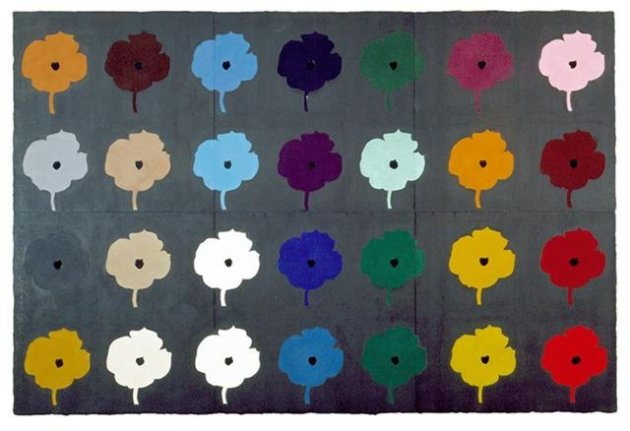 <span class=&#34;artist&#34;><strong>Donald Sultan</strong></span>, <span class=&#34;title&#34;><em>28 Coloured Flowers July 15 2004</em>, 2004</span>