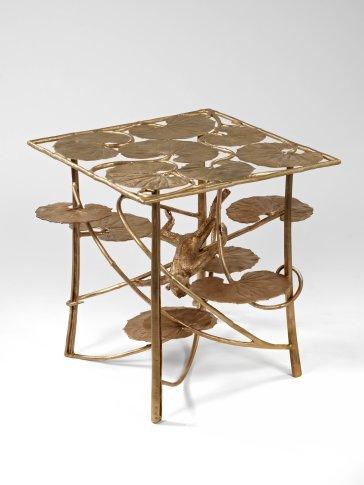 <span class=&#34;artist&#34;><strong>Claude Lalanne</strong></span>, <span class=&#34;title&#34;><em>Table Lotus et Singe Carrée en Bronze</em>, 2013</span>