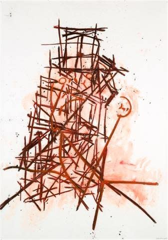 <span class=&#34;artist&#34;><strong>Tony Bevan</strong></span>, <span class=&#34;title&#34;><em>Head and Neck with Tower</em>, 2008</span>