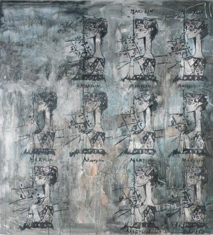 <span class=&#34;artist&#34;><strong>Heribert C. Ottersbach</strong></span>, <span class=&#34;title&#34;><em>Marylin</em>, 2010</span>